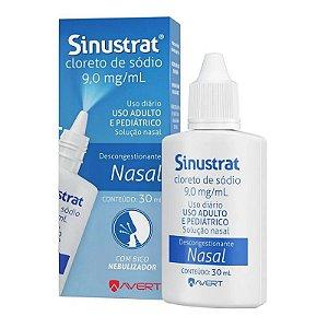 Sinustrat Solução Nasal Bico Nebulizador 30ml