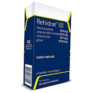 Rehidrat 50 4 Envelopes