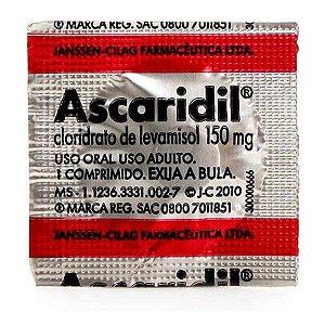 Ascaridil  150mg Adulto 1 Comprimido