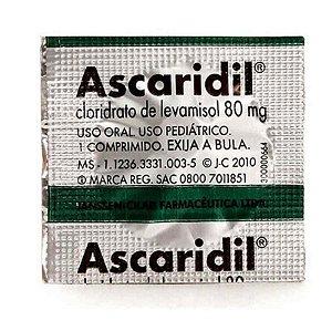 Ascaridil 80mg Pediátrico 1 Comprimido