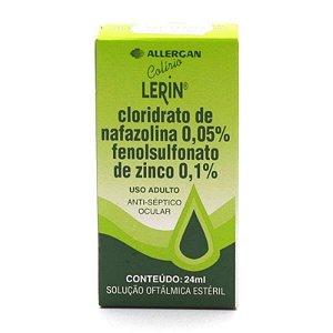 Lerin Solução Oftálmica 24ml