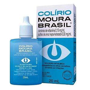 Moura Brasil Solução Oftálmica 20ml