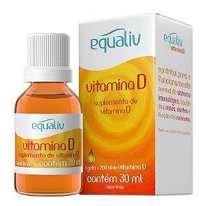 Equaliv Vitamina D 200UI 30ml