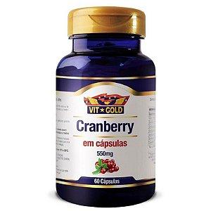 Cranberry 55mg 60 Cápsulas Vitgold