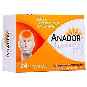 Anador 500mg 24 Comprimidos