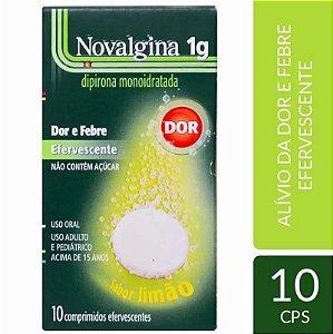 Novalgina Efervescentes 1g 10 Comprimidos