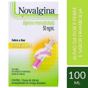 Novalgina Solução 100ml