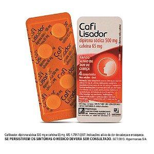 Cafilisador 4 Comprimidos