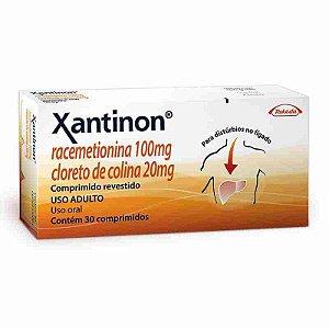 Xantinon 30 Comprimidos