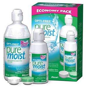Opti-Free Pure Moist 300ml Grátis Opti-Free Pure Moist 120ml