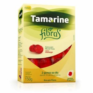 Tamarine Fibras Sabor Morango 30 Gomas