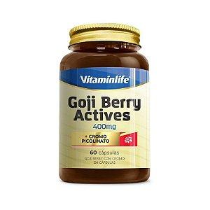 Goji Berry Actives 400mg 60 Cápsulas Vitaminlife