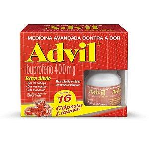 Advil 400mg 16 Cápsulas