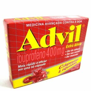 Advil 400mg 20 Cápsulas Gelatinosa Mole