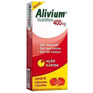 Alivium 400mg 10 Comprimidos