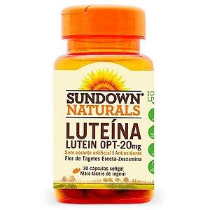 Sundown Vitamina Luteina Opt 20mg 30 Cápsulas