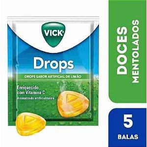 Vick Limão 5 Pastilhas