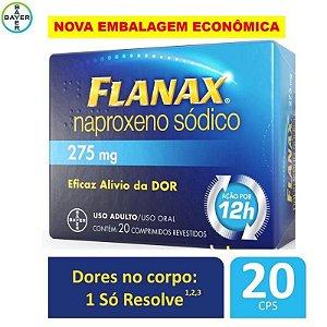 Flanax 275mg 20 Comprimidos