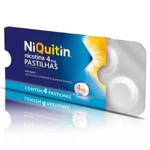 Niquitin 4mg Sabor Menta 4 Pastilhas