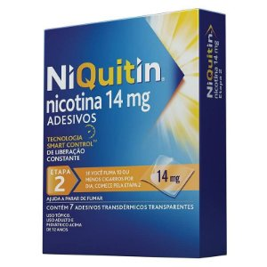 Niquitin Clear 14mg 7 Adesivos
