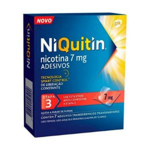 Niquitin Clear 7mg 7 Adesivos