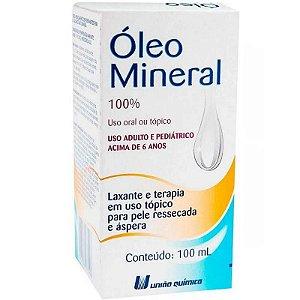 Óleo Mineral 100ml União Química