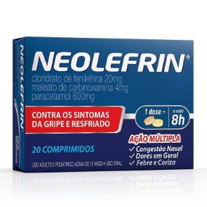 Neolefrin 20 Comprimidos