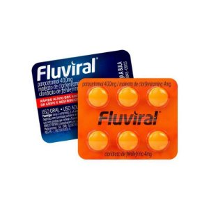 Fluviral 6 Comprimidos