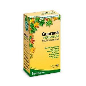 Guaraná 550mg 45 Cápsulas Herbarium