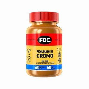 Picolinato de Cromo 200mcg FDC com 60 Cápsulas FDC