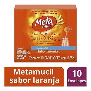 Metamucil Solúvel Laranja 10 Envelopes