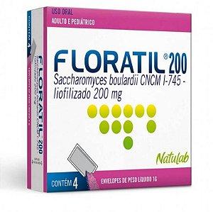 Floratil Pediátrico 200mg 4 Envelopes