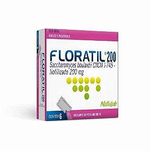 Floratil Pediátrico 200mg 6 Envelopes