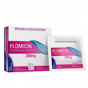Flomicin 200mg 4 Envelopes 1g