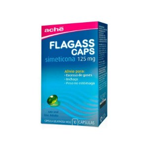 Flagass Caps 125mg 10 Cápsulas
