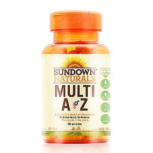 Multi A-Z Sundown 60 Comprimidos