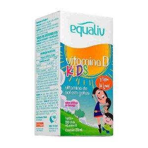 Vitamina D Kids Gotas 20ml Equaliv