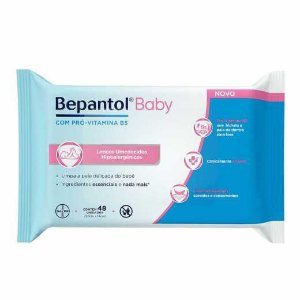 Lenços Umedecidos Bepantol Baby 48 Unidades
