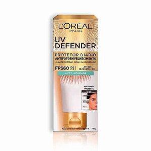 Protetor Solar L'Oréal UV Defender Antioleosidade FPS60 40g