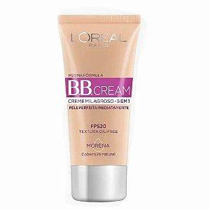 Base Facial BB Cream L'oreal 5 em 1 Morena FPS20 com 30ml