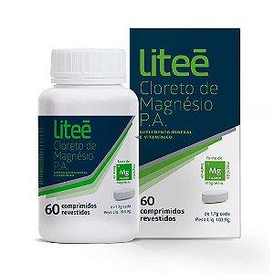 Cloreto de Magnésio P.A. 60 Comprimidos Revestidos Liteé