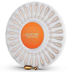 Creme Antirrugas Melora C Max Monoderma cápsulas para aplicação no rosto com 28 unidades