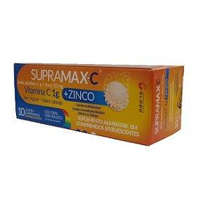 Supramax-C  1g + Zinco 10 Coprimidos Efervescentes Globo