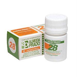 Complexo Homeopático 60 Comprimidos N. 28 Almeida Prado