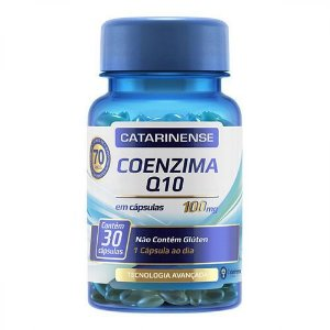 Coenzima Q10 100mg Catarinense com 30 Cápsulas