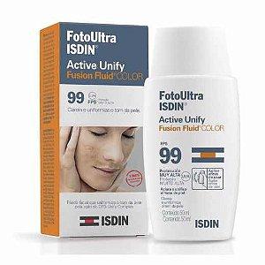 Protetor Solar Isdin Foto Ultra Active Unify Color FPS99 50ml