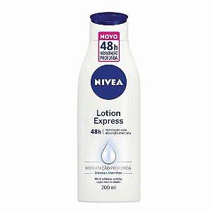 Loção Hidratante Nivea Lotion Express 200ml
