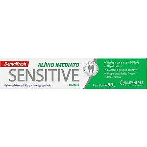 Creme Dental Dentalfresh Sensitive Alívio Imediato 90g