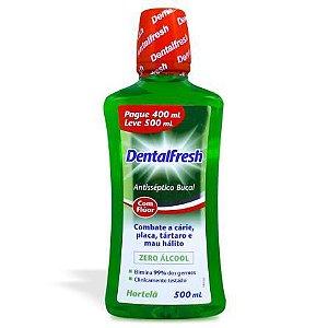Dentalfresh Antisséptico Bucal Hortelã com 500ml