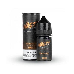 Nic Salt Nasty Juice Bronze Tabaco 30ml